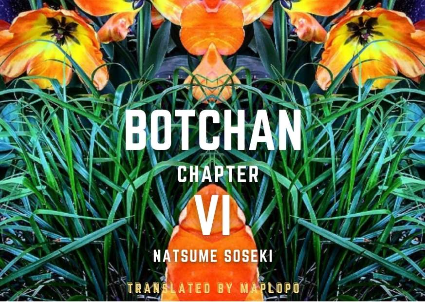 Botchan, Chapter Six Cover, Maplopo, News Image