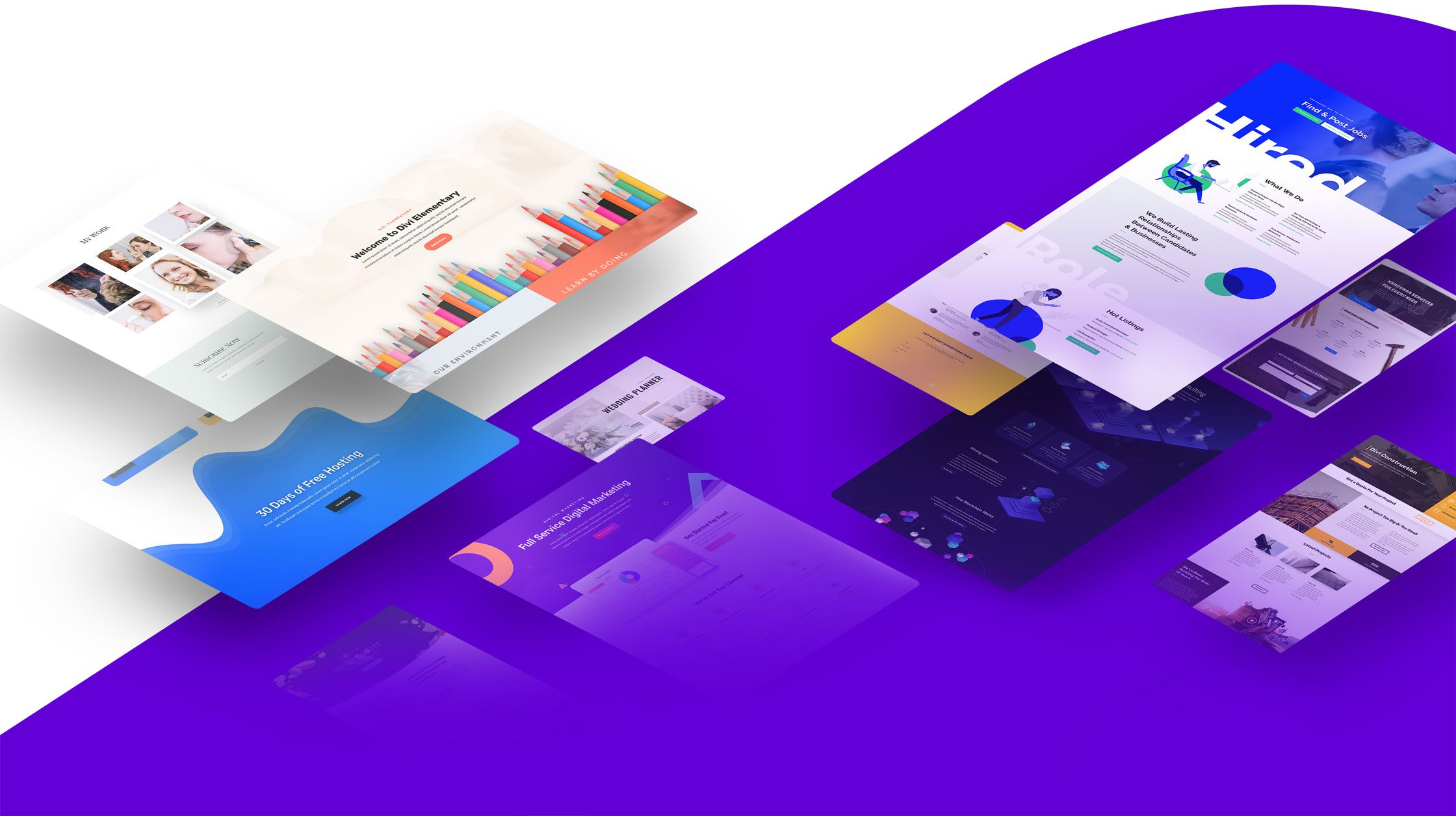 Divi Layouts Layers