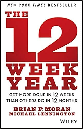 The 12 Week Year, Best Business Books, Productivity Wins