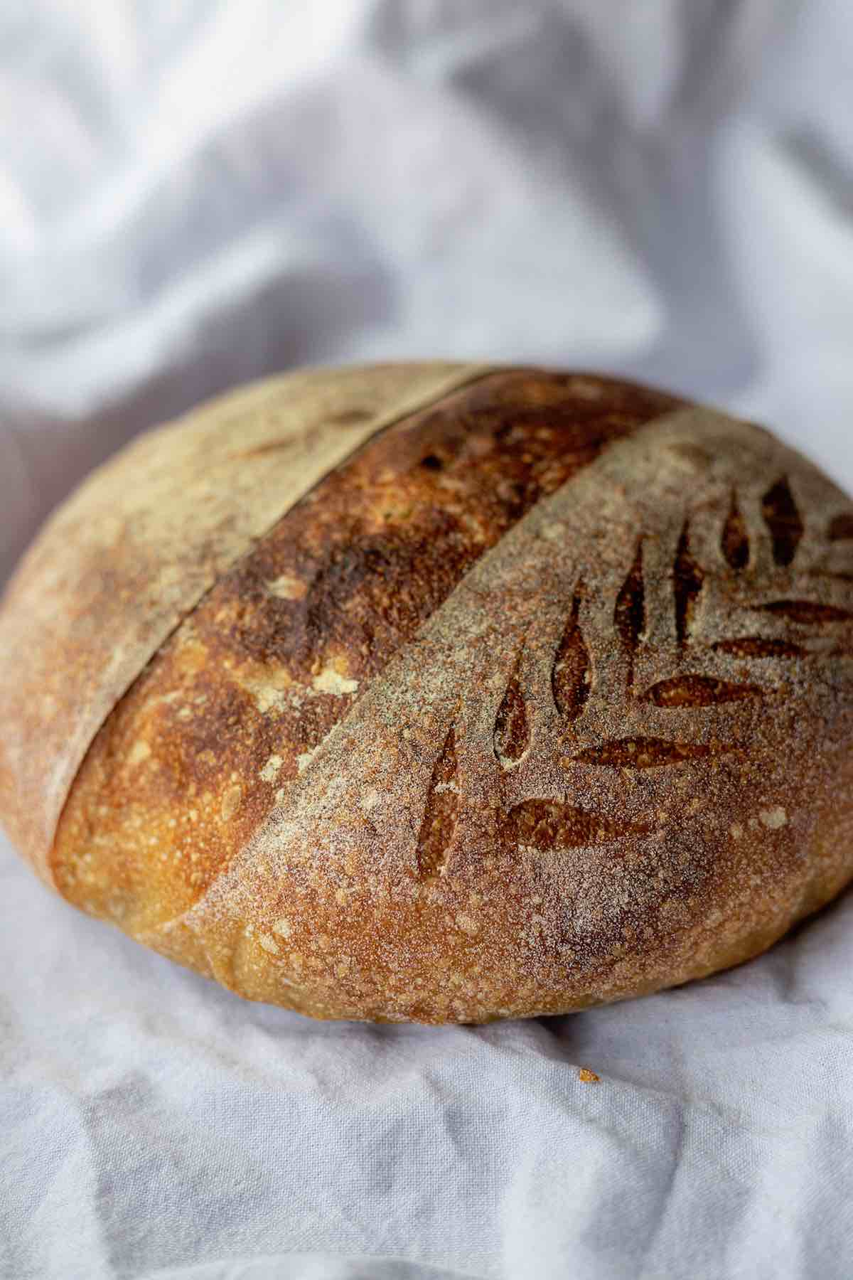 Scoring Sourdough with a Bread Lame from Mure et Peyrot